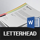 Modern Letterhead - GraphicRiver Item for Sale