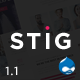Stig - Multipurpose One/Multi Page Commerce Theme - ThemeForest Item for Sale