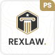 Rexlaw - Law Attorney PSD Template - ThemeForest Item for Sale
