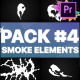 Smoke Elements Pack 04   Premiere Pro MOGRT - VideoHive Item for Sale