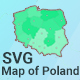 Map of Poland - CodeCanyon Item for Sale