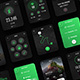Keira - Aesthetic Fitness Watch UI Kit - GraphicRiver Item for Sale