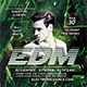 Electronic Dance Music Flyer - GraphicRiver Item for Sale