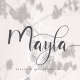 Mayla - Handwriting Script - GraphicRiver Item for Sale