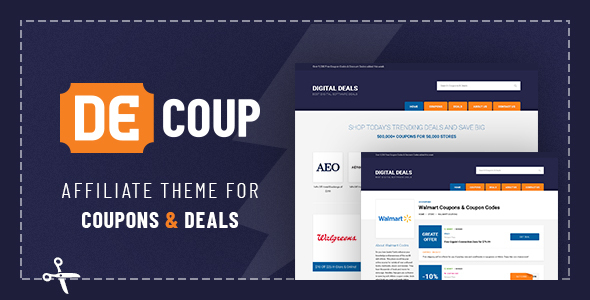 DeCoup - WordPress Theme for Coupons and Deals