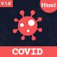 Covid - Coronavirus Medical Prevention Template - ThemeForest Item for Sale