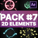 Flash FX Elements Pack 07   After Effects - VideoHive Item for Sale