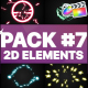 Flash FX Elements Pack 07   FCPX - VideoHive Item for Sale