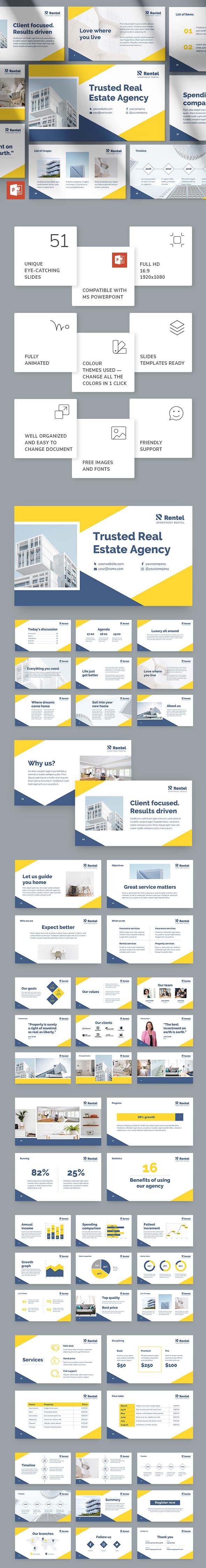 Apartment Rental PowerPoint Presentation Template