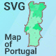 Map of Portugal - CodeCanyon Item for Sale