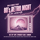 80's Retro Night Flyer/ Poster - GraphicRiver Item for Sale