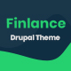 Finlance - Financial Planning Drupal 8.8 Theme with Paragraph Builder - ThemeForest Item for Sale