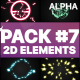 Flash Fx Elements Pack 07   Motion Graphics Pack - VideoHive Item for Sale