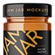 Jar Jam Mockup - GraphicRiver Item for Sale