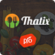 Thatix - Food Recipes Theme - ThemeForest Item for Sale