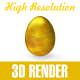 Golden Easter Egg - GraphicRiver Item for Sale