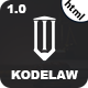 Kodelaw - Lawyer Attorney HTML5 Template - ThemeForest Item for Sale