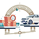 Car Cost on Scales - GraphicRiver Item for Sale