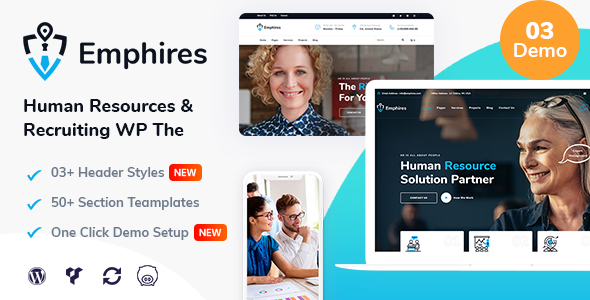 Emphires – Human Resources & Recruiting Theme Preview