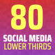 Stylish Social Media Lower Thirds - VideoHive Item for Sale