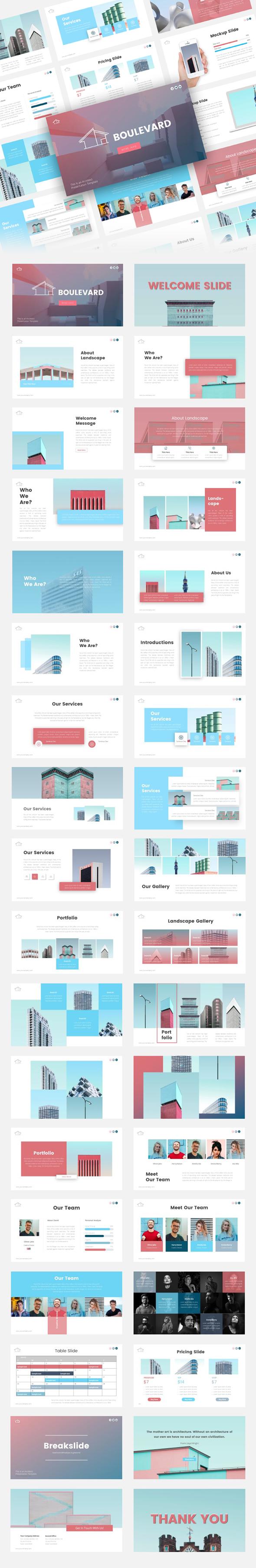 Boulevard Architecture Presentation