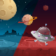 Game Background Planet - GraphicRiver Item for Sale