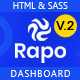 Rapo -  HTML5 Bootstrap Admin Template - ThemeForest Item for Sale