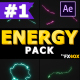 Cartoon Energy And Explosions | After Effects - VideoHive Item for Sale