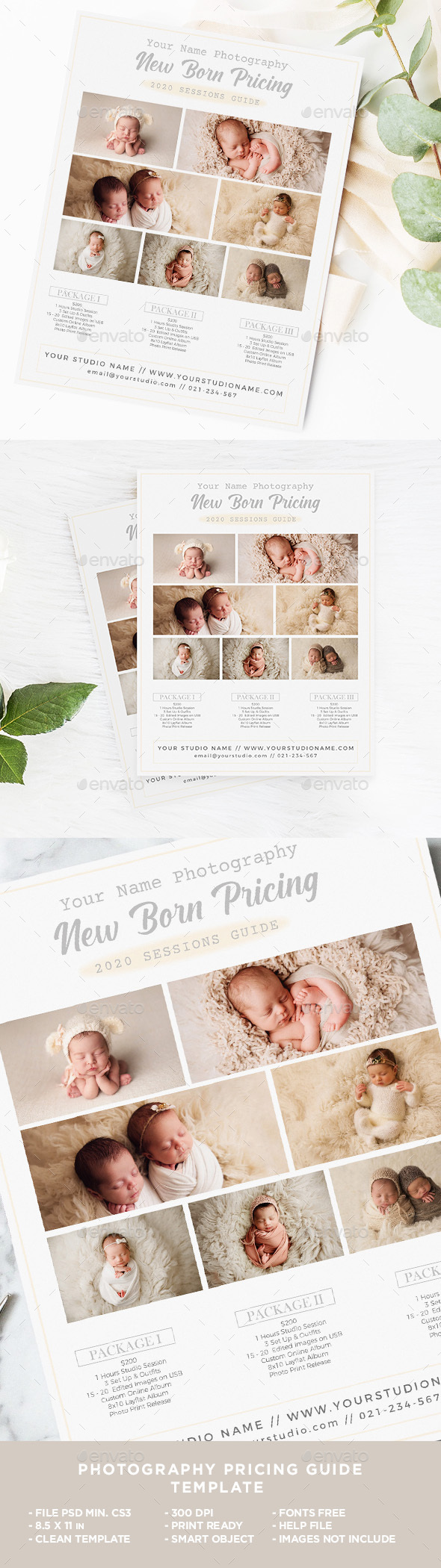 New Born Photography Business Flyer