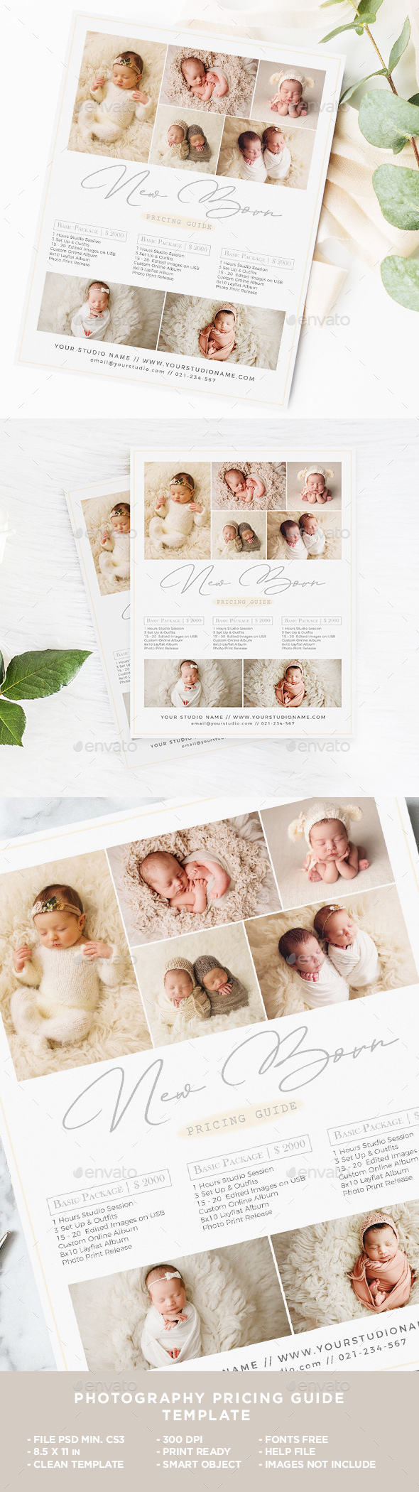 New Born Photography Flyer - Corporate Flyer