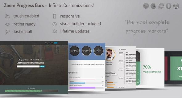 Zoom Progress Bars - WordPress Plugin Download