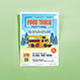 Food Truck Festival Summer Flyers Template - GraphicRiver Item for Sale