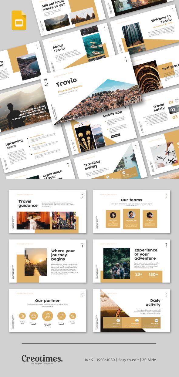 Travio Google Slide Presentation Template