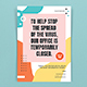 Stay at Home Flyers Template - GraphicRiver Item for Sale