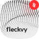 Fleckvy - Abstract Futuristic Wave Particles on White Background - GraphicRiver Item for Sale