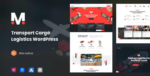 Moovit - Transportation & Logistic WordPress