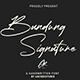 Bandung Signature Modern Font - GraphicRiver Item for Sale