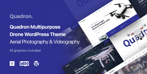 Drone | Aerial Photography | UAV WordPress Theme - Quadron