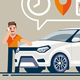 Meeting and Inspection of Car Before Purchase - GraphicRiver Item for Sale