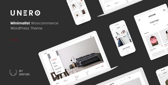Unero - Minimalist AJAX WooCommerce WordPress Theme Download
