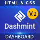 Dashmint -  Admin Dashboard HTML Template - ThemeForest Item for Sale