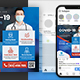 Medical Social Media Post and Flyer Templates - GraphicRiver Item for Sale