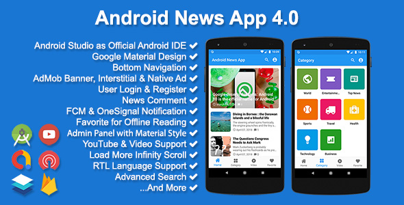 Codecanyon | Android News App Free Download #1 free download Codecanyon | Android News App Free Download #1 nulled Codecanyon | Android News App Free Download #1