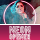 Neon Opener - VideoHive Item for Sale