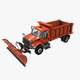 Snow Plow International 7400 - 3DOcean Item for Sale
