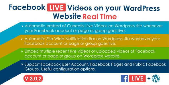 Facebook Live Video Auto Embed for WordPress Free Download #1 free download Facebook Live Video Auto Embed for WordPress Free Download #1 nulled Facebook Live Video Auto Embed for WordPress Free Download #1