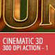 3D Cinematic Effect - 300 DPI - Part 1 - GraphicRiver Item for Sale