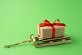 Christmas sleigh. - PhotoDune Item for Sale
