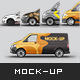 Vehicle Mix Mockup Pack 5 in 1 Vol.1 - GraphicRiver Item for Sale