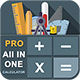 Android Calculator App- All In One Calculator(Algebra, Geometry, Finance, Health, etc..) - CodeCanyon Item for Sale